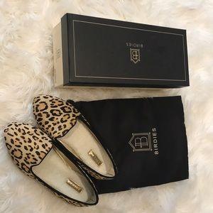 Birdies leopard print loafers